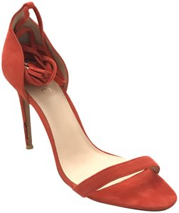 RAYE Red-Orange Pumps