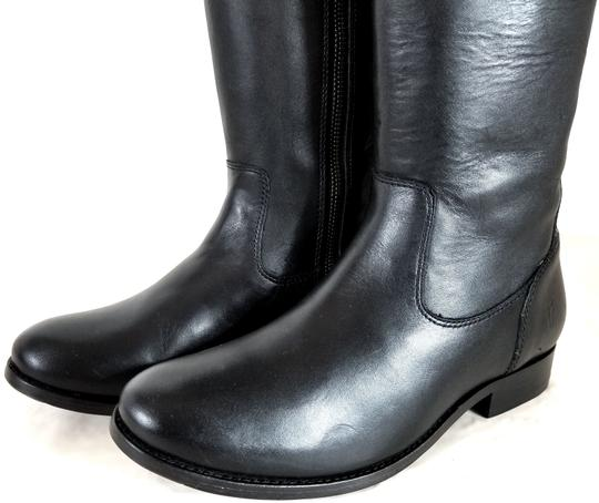 Frye Tall Leather Lining Leather Upper Style 76111 Made In Mexico Black Boots