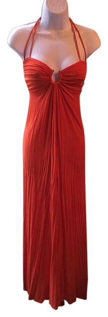 Preload https://item1.tradesy.com/images/michelle-jonas-orange-halter-with-open-back-long-casual-maxi-dress-size-6-s-22186110-0-1.jpg?width=400&height=650