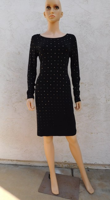 Catherine Malandrino Jersey Studded Dress