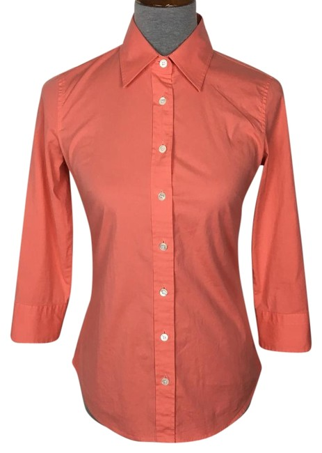 Preload https://item4.tradesy.com/images/jcrew-peach-haberdashy-shirt-button-down-top-size-2-xs-22186178-0-1.jpg?width=400&height=650