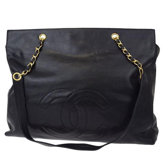 Preload https://item3.tradesy.com/images/chanel-timeless-tote-jumbo-cc-gold-chain-black-caviar-leather-shoulder-bag-22186192-0-0.jpg?width=440&height=440