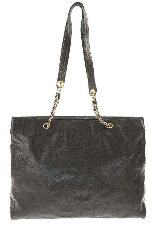 5a49707afcfa Chanel Chain Timeless Black Leather Shoulder Bag - Tradesy