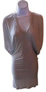 A|X Armani Exchange short dress Grey Open Back Fitted on Tradesy