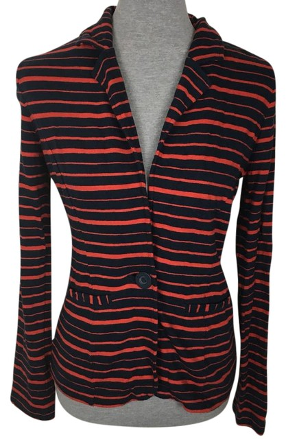 Preload https://item5.tradesy.com/images/caslon-red-navy-blue-striped-blazer-size-6-s-22186234-0-1.jpg?width=400&height=650