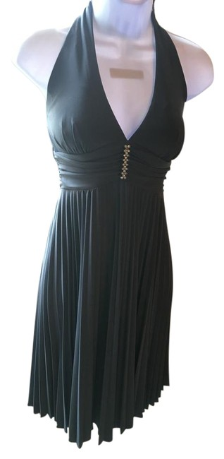 Onyx Nite Diamond Halter Dress