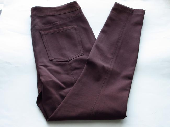 White House | Black Market Leather Pants brown Leggings
