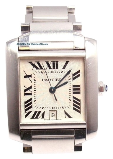 Cartier Large Automatic Tank Francaise