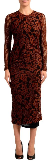 Preload https://item4.tradesy.com/images/just-cavalli-brown-v-7255-long-casual-maxi-dress-size-4-s-22186388-0-1.jpg?width=400&height=650