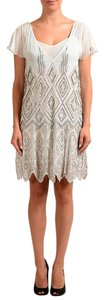 Just Cavalli short dress Off-White on Tradesy