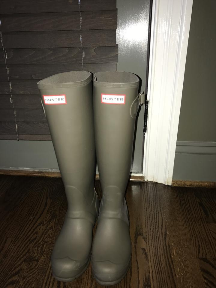 lady Hunter Orders Dark Olive Matte Boots/Booties Orders Hunter are welcome 082003