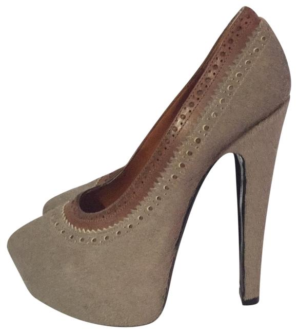 Givenchy Grey Pony Hear Platforms Size EU 37.5 (Approx. US 7.5) Regular (M, B) Givenchy Grey Pony Hear Platforms Size EU 37.5 (Approx. US 7.5) Regular (M, B) Image 1