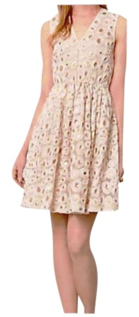 Item - Ivory Madchen Wound Copper Fit & Flare Lined Mid-length Cocktail Dress Size 8 (M)