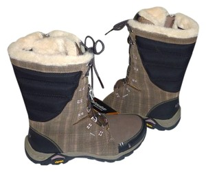 Ahnu Hiking Water-resistant Insulation Winter Vibram Brindle Boots