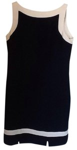 Amanda Smith short dress Navy blue and white on Tradesy