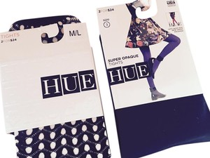 Hue Brand New 2 Pairs Mesh and Opaque