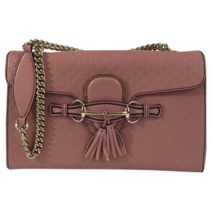 6f9c4a0097a Gucci Emily Light Pink Shoulder Bag - Tradesy