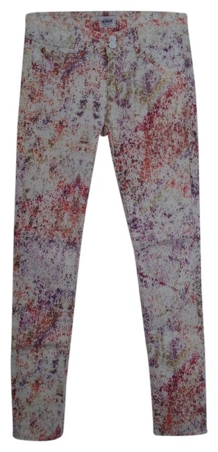 Hudson Multi-color Collin Mid-rise Jean Pants Size 0 (XS, 25) Hudson Multi-color Collin Mid-rise Jean Pants Size 0 (XS, 25) Image 1