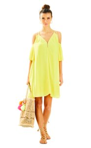 Lilly Pulitzer short dress Tart Yellow on Tradesy