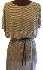 Eileen Fisher crop top and matching skirt