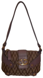 Valentino Smooth Domed Studs Viva Signature Jacquard Ships In 24 Hours Hobo Bag