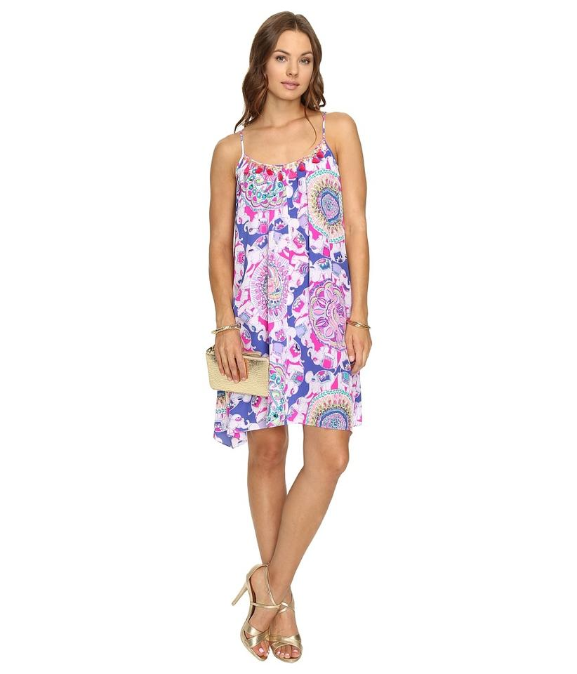 Lilly Pulitzer Purple Play That Trunky Music Rooney Short Cocktail ...