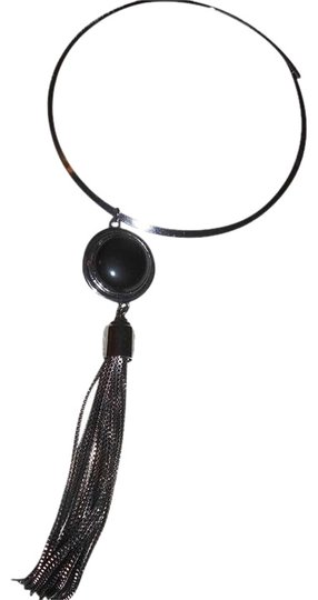 Vince Camuto Beautiful Stone Necklace with Tassels Image 0