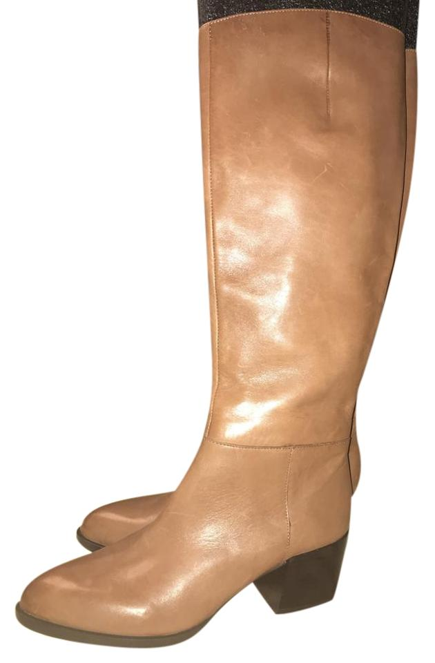Sam Edelman Saddle Tan A4754l6 Joelle Tall Soft Leather Riding A4754l6 Tan Boots/Booties 1c6f5a