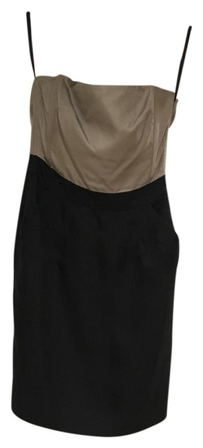 Item - Black and Grey Short Cocktail Dress Size 0 (XS)