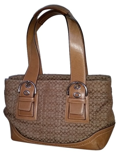 Preload https://img-static.tradesy.com/item/2219158/coach-signature-beige-cloth-and-leather-satchel-0-1-540-540.jpg