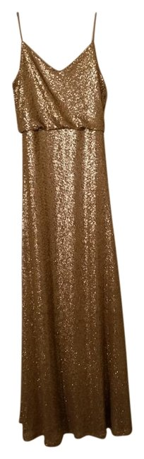 Item - Gold Collection Long Formal Dress Size 6 (S)
