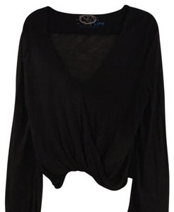 Blue Life Top Black