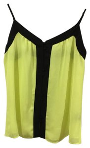 PJK Patterson J. Kincaid Top black and yellow