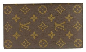 Louis Vuitton Auth LV Monogram Bifold Wallet