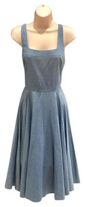 bailey blue short dress blue on Tradesy
