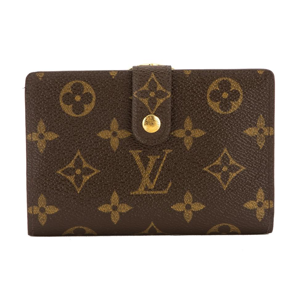 louis vuitton monogram canvas porte monnaie viennois wallet pre owned. Black Bedroom Furniture Sets. Home Design Ideas