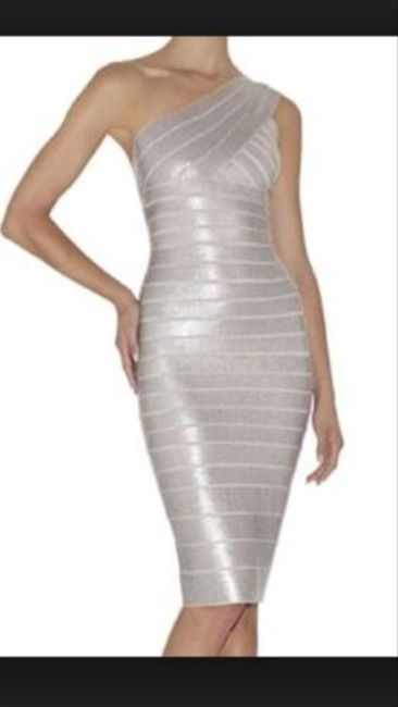 Preload https://item3.tradesy.com/images/herve-leger-silver-fionne-metallic-sequin-bandage-mid-length-size-4-s-2219317-0-0.jpg?width=400&height=650