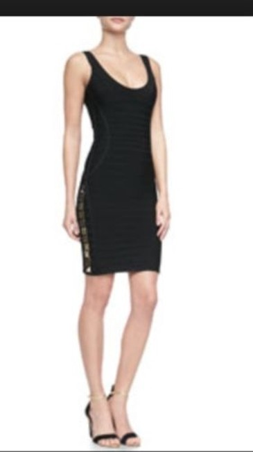 Hervé Leger Sleeveless Bandage Dress