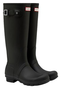 Hunter Black Boots