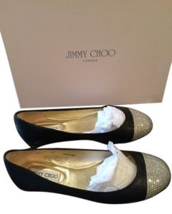 Jimmy Choo Wrena Ballet Black Flats