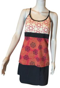 Soybu Tennis skort and crossback bra tank top
