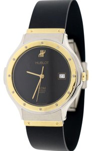Hublot Hublot MDM Depose 2-Tone Gold/Steel 36MM Black Dial Watch 1581.2