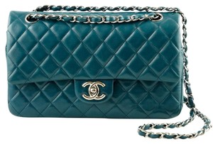Chanel Double Flap Classic Timeless Rare Shoulder Bag