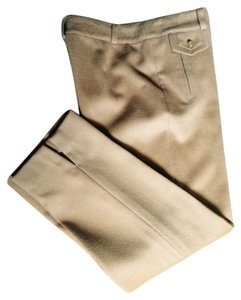 Tory Burch Straight Pants Camel