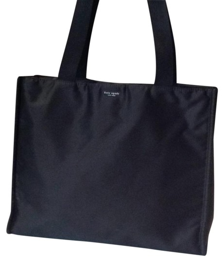 Preload https://img-static.tradesy.com/item/22195379/kate-spade-zippered-by-black-super-strong-man-made-fabric-satin-version-of-ballistic-nylon-tote-0-1-540-540.jpg