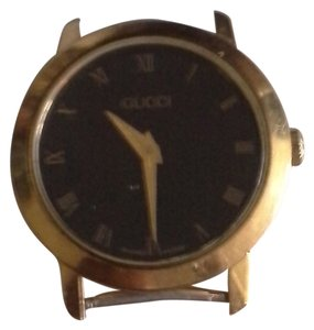 Gucci Gucci Gold & Black Watch Face