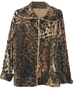 Jones of New York Leopard Pattern Jacket