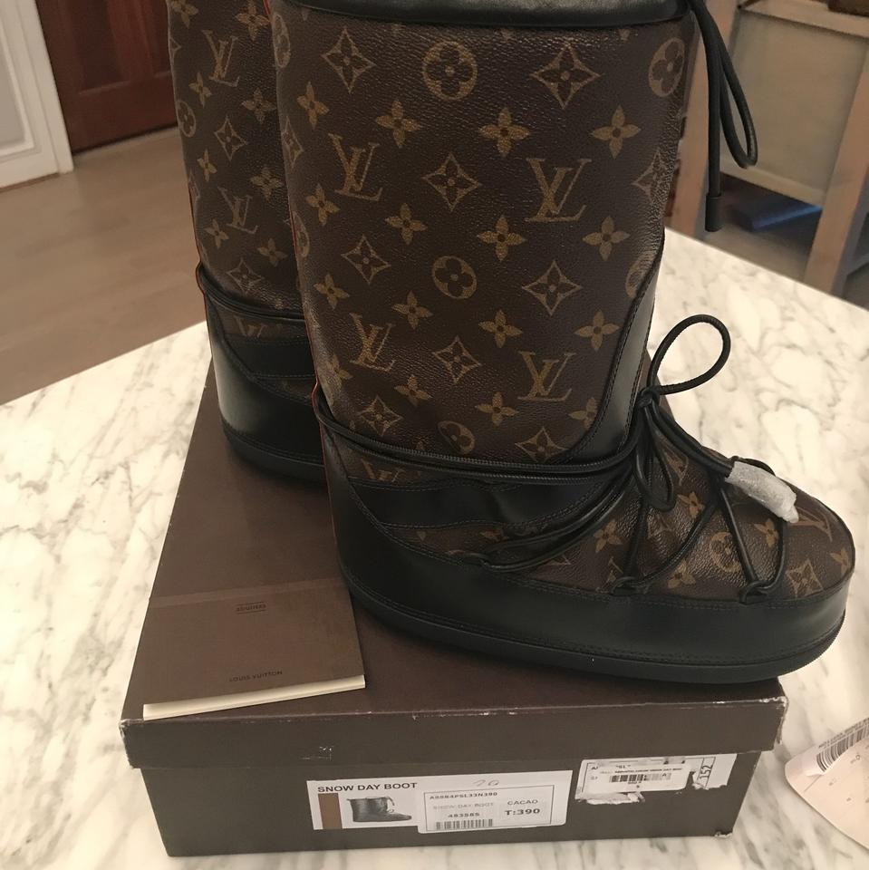 a55df2eda595 Louis Vuitton Snow Day Boots Booties Size EU 39 (Approx. US 9) Wide ...