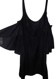 Susana Monaco short dress Black 100% Silk on Tradesy