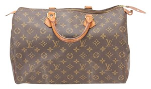 Louis Vuitton Speedy 35 Lv Hand Tote in brown